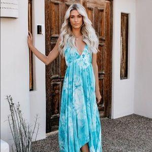 Vici Dolls Seaside Tie Dye dress